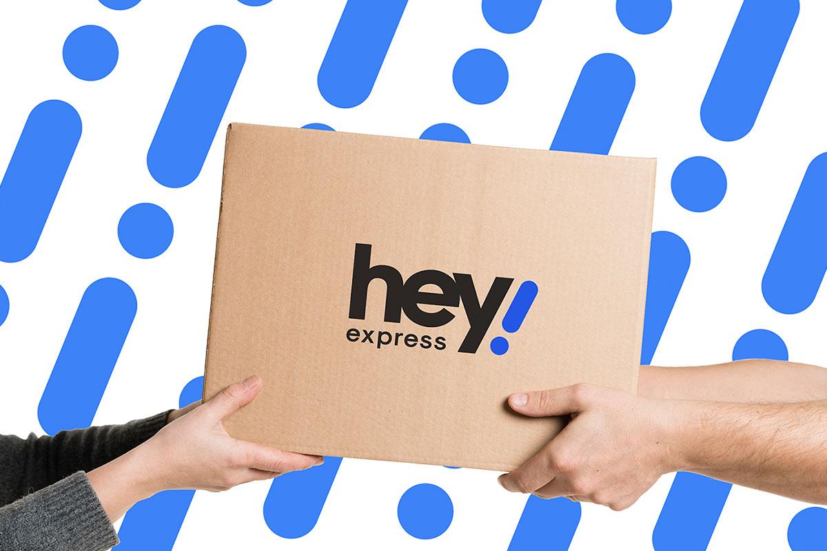 hey express branding