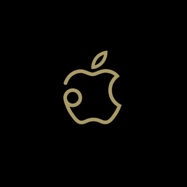 re diseño de logotipo apple