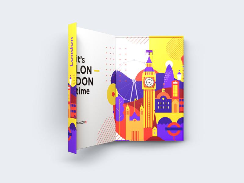 Diseño conceptual Swatch City