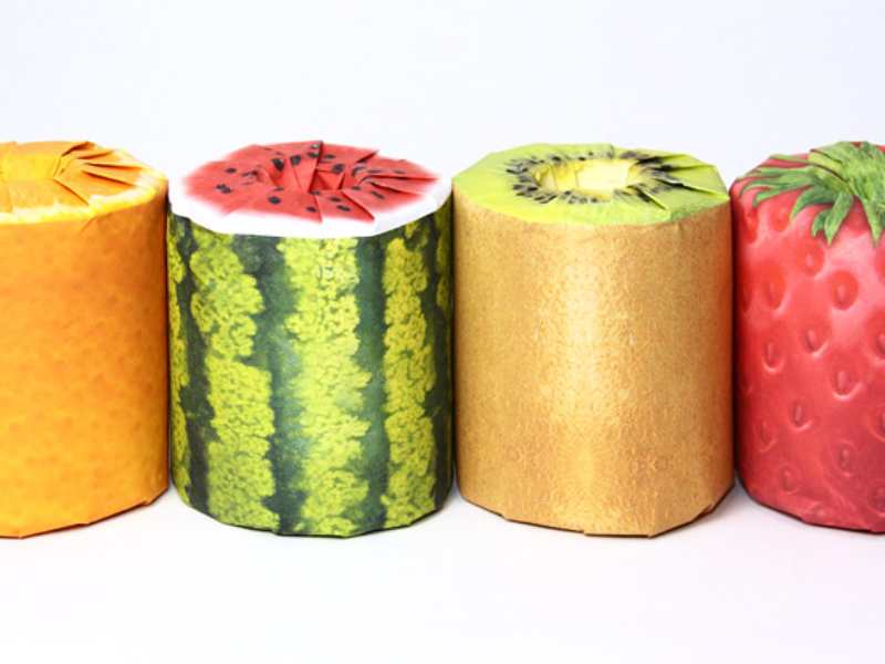 Diseño de Packaging The Fruits Toilet