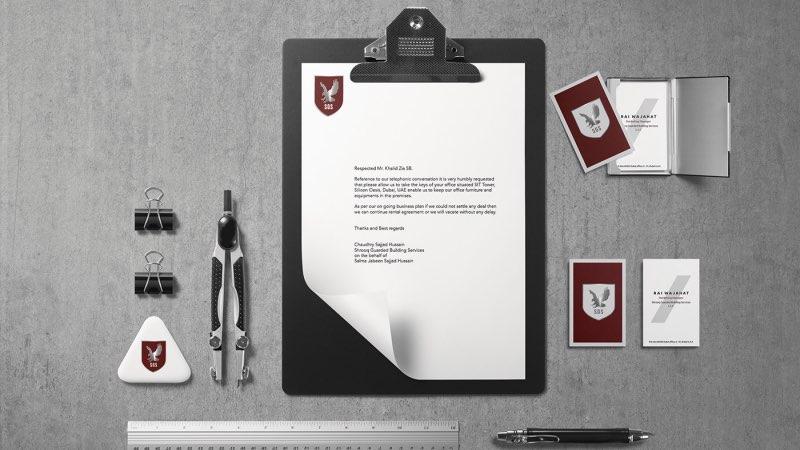 Diseño de marca compañía de seguridad