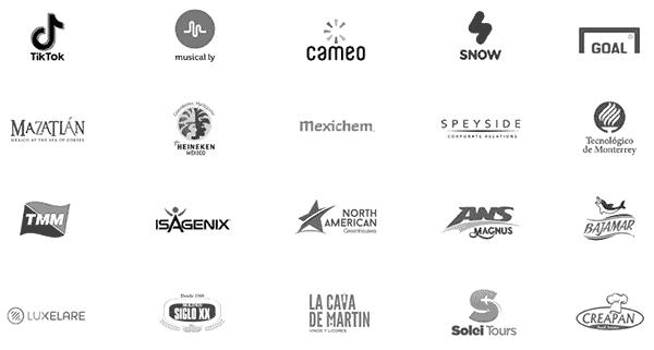 clientes agencia creativa logos