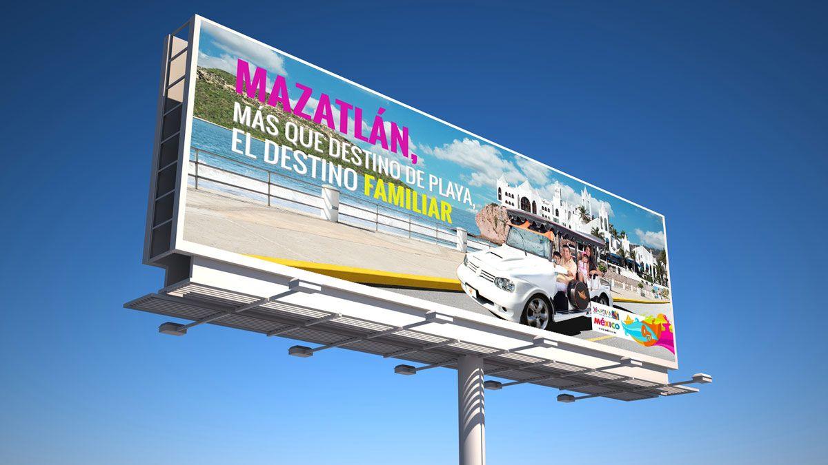 Campaña publicitaria mazatlan sinaloa