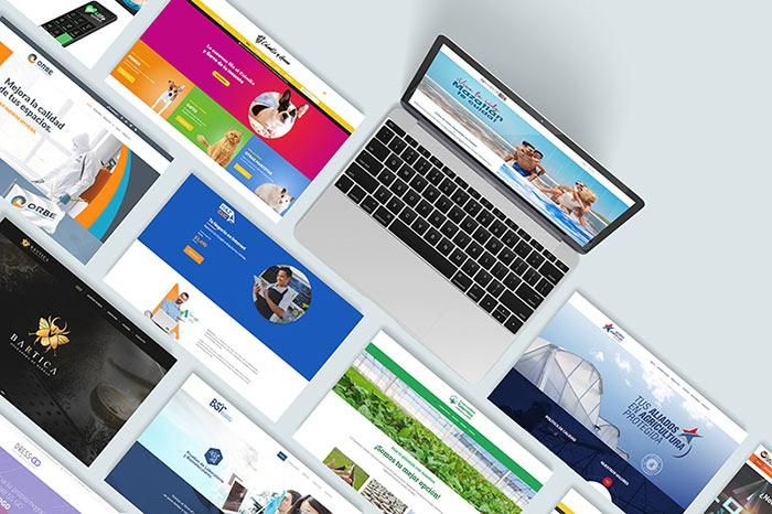 Sitios web Agencia Creativa
