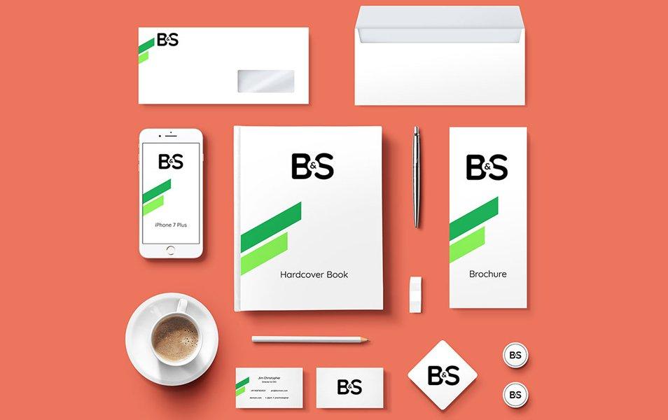 Branding Stationery PSD Mockups