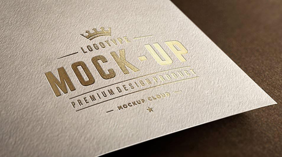 CloseUp Logo Mockups