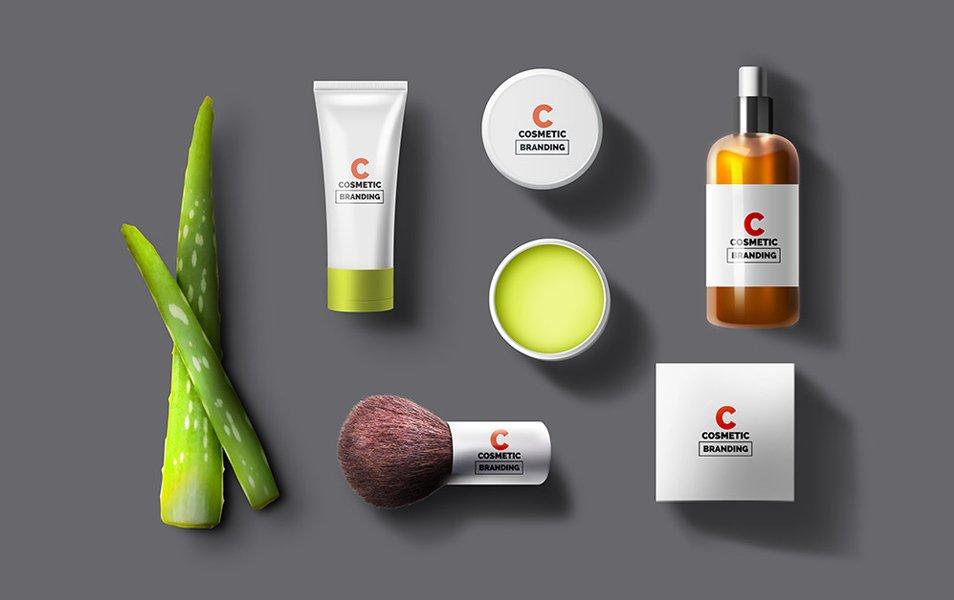 Cosmetic Branding Mockups