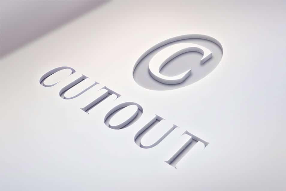 Cutout Logo Mockups