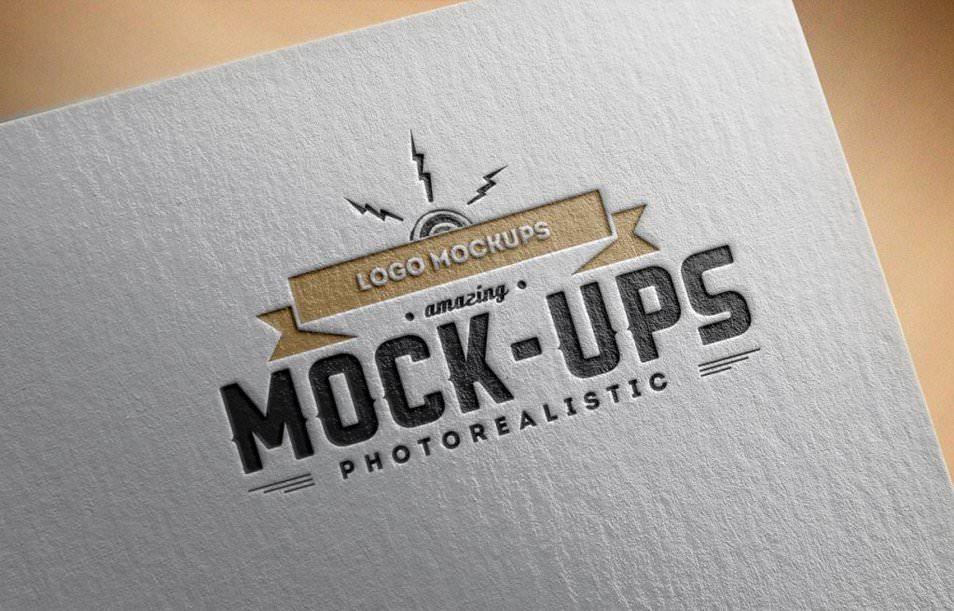 Logo Mock-Up Paper Edition 1