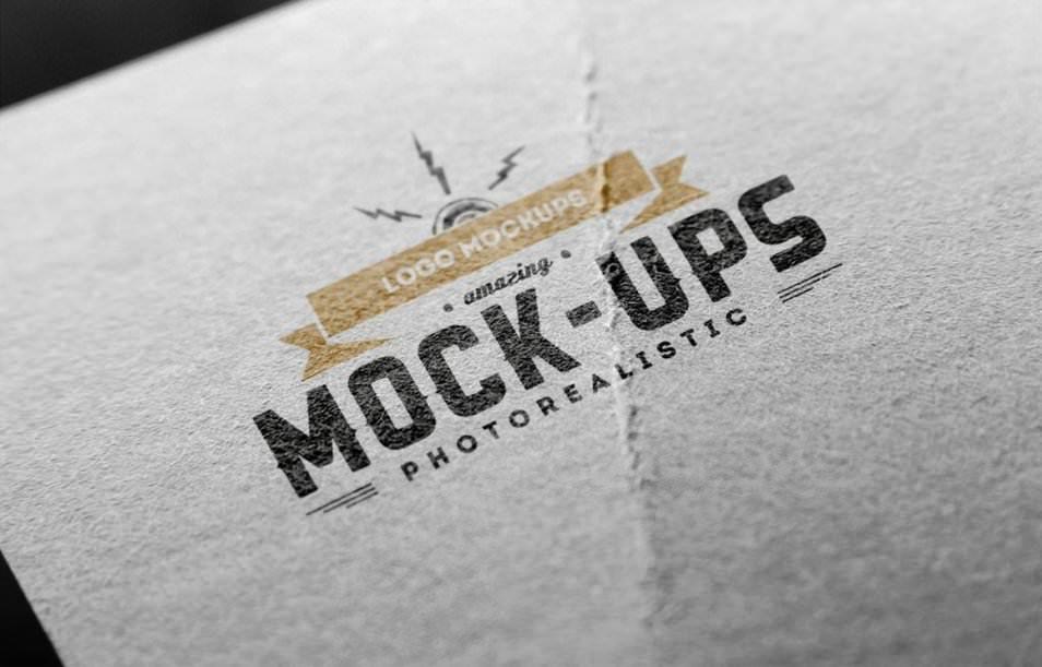 Logo Mock-Up Paper Edition 2