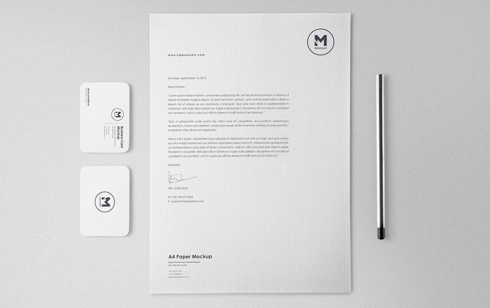 Stunning Free Stationery Mockups Set