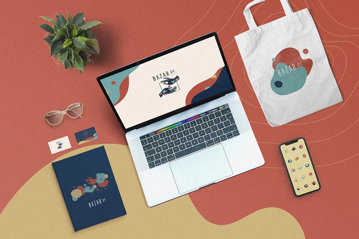 branding para bazar aplicaciones