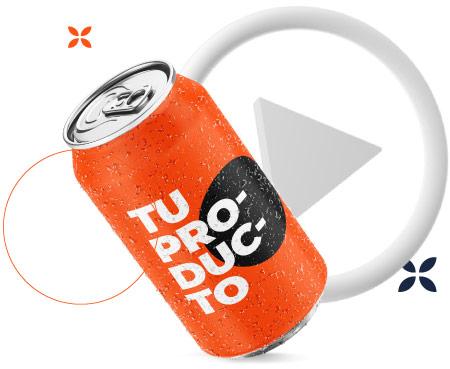 bebida video publicitario corto