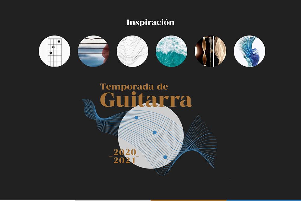 branding logo inspiracion evento guitarra