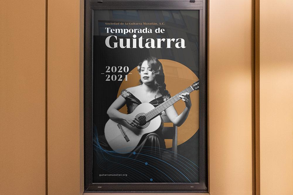 branding banner calle evento guitarra mazatlan